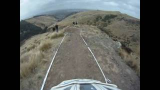 DH NZ OPEN 2010 - Lava Flow - Helmet Cam