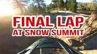 2017 Closing Day at Snow Summit Bike Park...