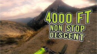XC Ride: Mt Wilson Non-Stop Descent, Los...