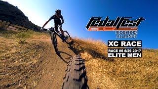 XC Full Race: 2017 Pedal Fest #6 Elite Men