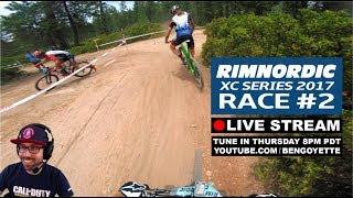 Live Stream: XC Race Rim Nordic #2 Pro Men -...