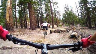 Juniper Trail with Gabe at Mammoth Bike Park...