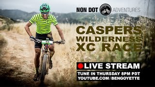 Live Stream: Caspers Wilderness XC Race Elite...