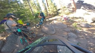 Outtakes: Finding the line at China Peak