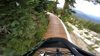 New Trail Day: Midtown at Mammoth Mountain...