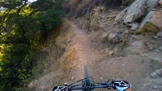 XC Ride: El Prieto at sunset in 4K 60fps