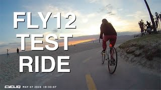 Cycliq Fly12 Test Ride in Los Angeles California