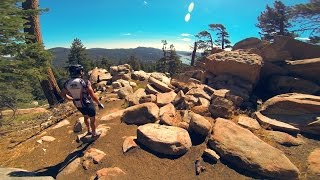 XC Ride: Gray's Peak - DON'T BREAK AN ANKLE...