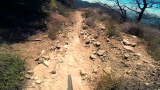 XC Ride: Mt Lukens Earl Canyon San Gabriel...