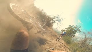 Mountain Bike Crash at the Glendora XC Grind Race