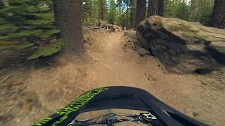 Mammoth Mountain's Shotgun Trail - August 2014...