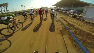 GoPro race lap @ Spooky Kross LA Bike Fest...