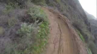 The Luge Trail, Southern California [RAW FOOTAGE]