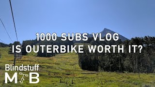 Is Outerbike Worth it? | 1000 subs vlog +...