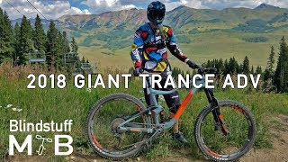 2018 Giant Trance Adv 2 Test Ride & Review...