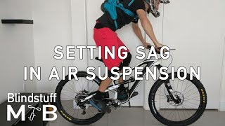 How to set Sag on your MTB by yourself