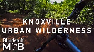 Mountain Biking the Knoxville Urban Wilderness...