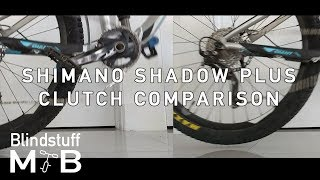 Shimano Shadow+ Slow motion ON/OFF comparison
