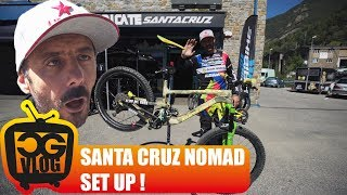 My 2018 Santa Cruz Nomad 4 BIKE CHECK -...