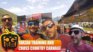 PLAYING TARZAN IN VAL DI SOLE, ITALY & UCI...