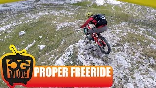 Mountain Bike FREE RIDING & Hiking in THE...