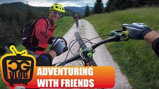 Mountain Biking in the Dolomites with Richie...