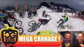 MEGA CARNAGE at MEGAVALANCHE 2017 Alpe...