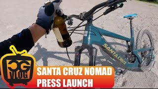 TESTING The New SANTA CRUZ NOMAD - CG VLOG #156