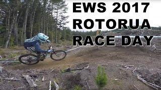 EWS CRANKWORX ROTORUA 2017 RACE DAY : Brutal,...