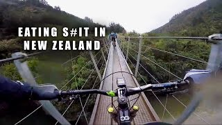 FIRST RIDE WITH LADS AT WAIROA GORGE MOUNTAIN...