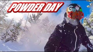 STREET-SKIING AND PERFECT POWDER DAY -...