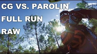 RAW MTB FULL RUN : Franck Parolin VS Cedric...