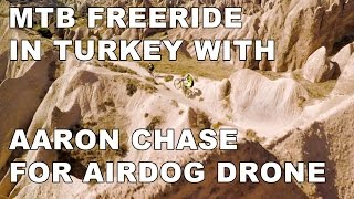 MTB Freeride with Aaron Chase for AirDog, the...
