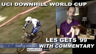 UCI Downhill Mountain Bike World Cup LES GETS...