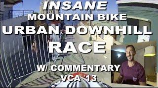 Mountain Bike URBAN Downhill RACE w/...