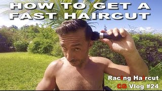 How To Get A Haircut To GO SUPER FAST - CG...