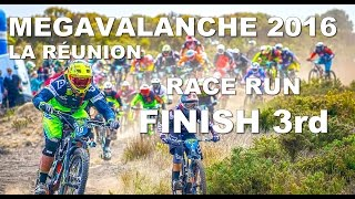 CRAZY Race Run - FINISH 3rd !!! Megavalanche...