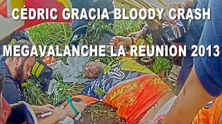 Cédric Gracia Mountain Bike Crash...