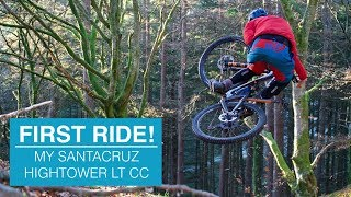 FIRST RIDE! Custom Santacruz Hightower LT CC