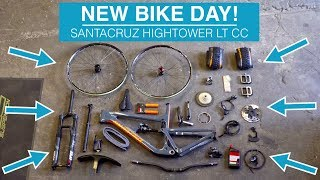 NEW BIKE DAY! Building my Santacruz Hightower...