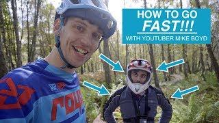 #21 How to go FAST!!! Coaching famous youtuber...