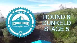 SES Helmet Cam 2017 // Round 6 - Dunkeld - Stage 5