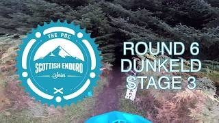 SES Helmet Cam 2017 // Round 6 - Dunkeld - Stage 3