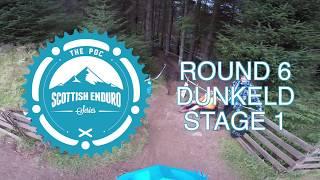 SES Helmet Cam 2017 // Round 6 - Dunkeld - Stage 1