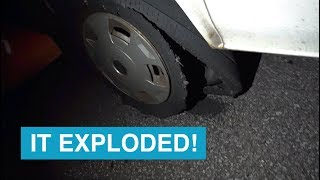 #17 It Exploded! - The #CathroVision travel vlog