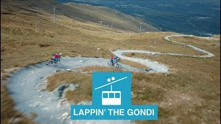 Lappin' the Gondi // Nevis Range with the Sick...