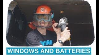 Day 1 - DIY Van Conversion // Windows and...