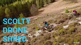 Scolty Drone Shred // MTB shralping with the...