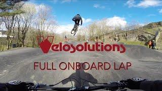 The Velosolutions Edinburgh Skelf Pump Track...