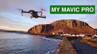 #7 My Mavic Pro. Stunning Scottish Sunset from...